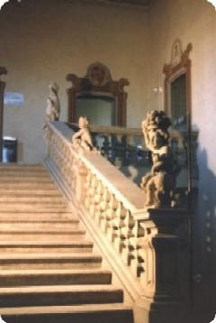 Scalone d'onore Villa Casati
