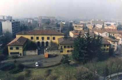 Villa Casati visione panoramica dall'alto