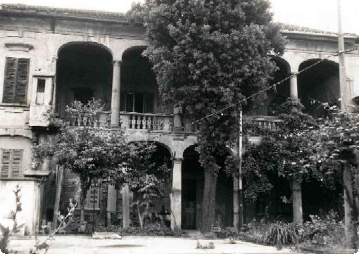Portico Villa Sormani