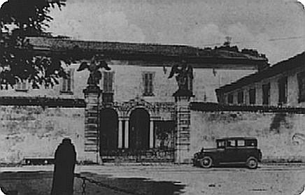 Ingresso Villa Casati - foto storica